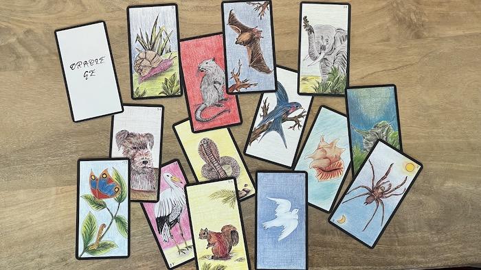 Oracle Gé cartes Animaux