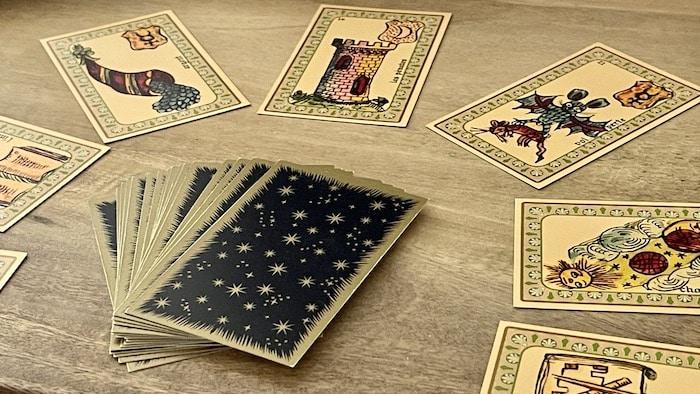 Oracle Belline et roue astrologique