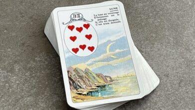 Petit Lenormand la Lune carte 32