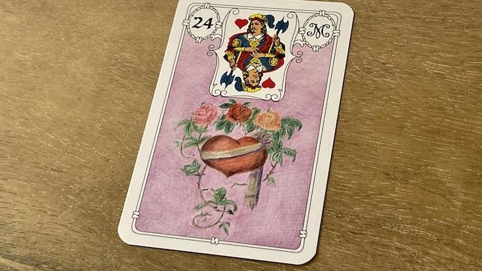Urania Lenormand le Coeur carte 24