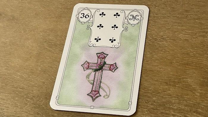 Urania Lenormand la Croix carte 36