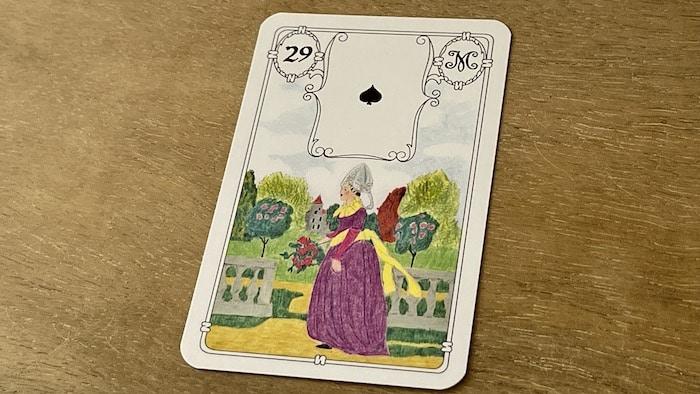 Urania Lenormand la Dame carte 29
