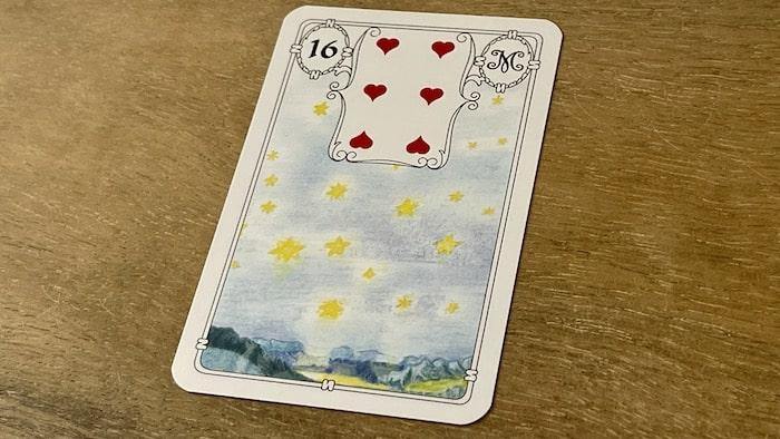 Urania Lenormand l'Étoile carte 16
