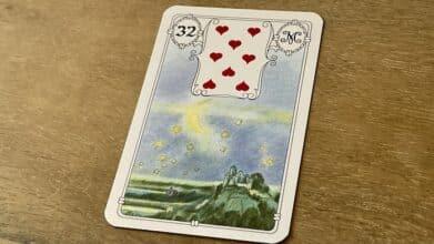 Urania Lenormand la Lune carte 32