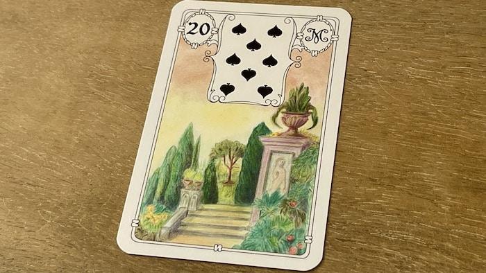 Urania Lenormand le Jardin carte 20