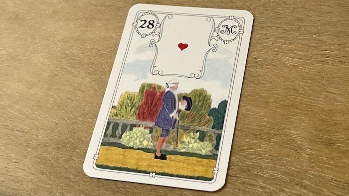 Urania Lenormand le Monsieur carte 28