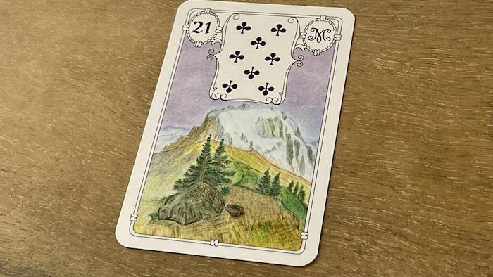 Urania Lenormand le Mont carte 21