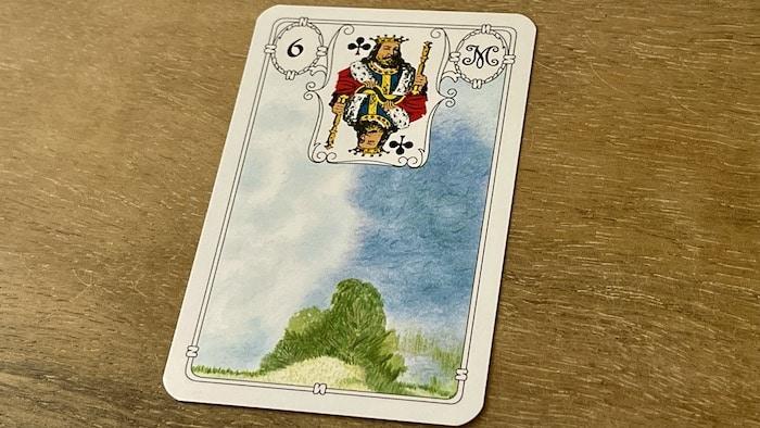 Urania Lenormand Nuage carte 6