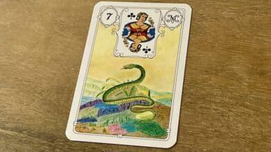 Urania Lenormand Serpent carte 7