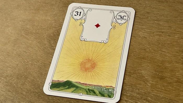 Urania Lenormand le Soleil carte 31