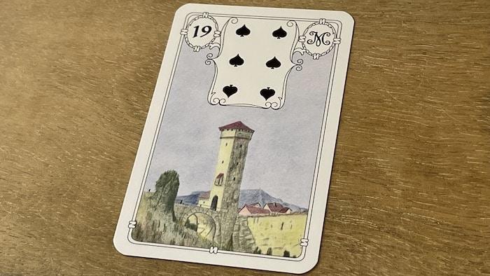 Urania Lenormand la Tour carte 19