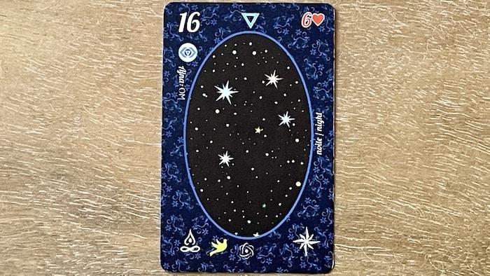 l'Étoile du petit Lenormand (carte 16)