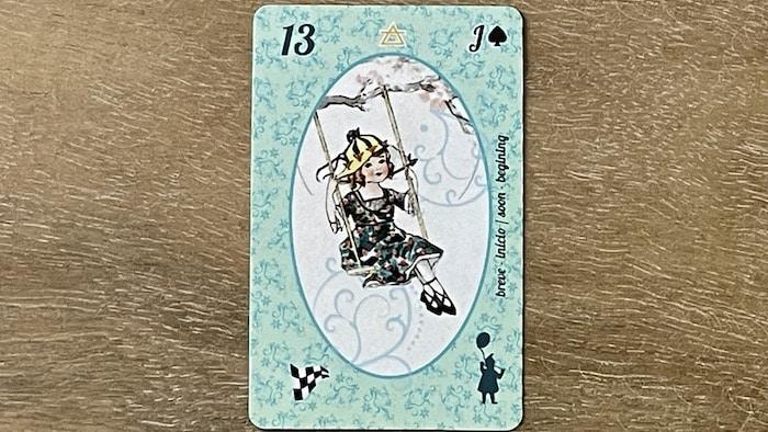 Enfant petit Lenormand (carte 13)