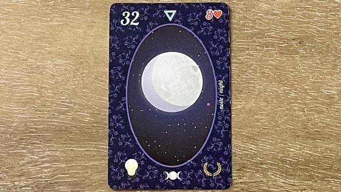 la Lune du petit Lenormand (carte 32)