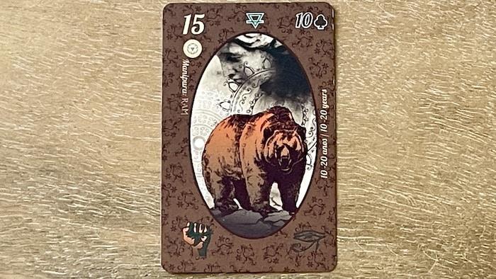 l'Ours du petit Lenormand (carte 15)