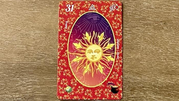 le Soleil du petit Lenormand (carte 31)