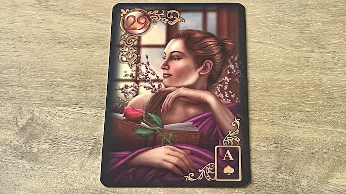 29 Dame Gilded Lenormand