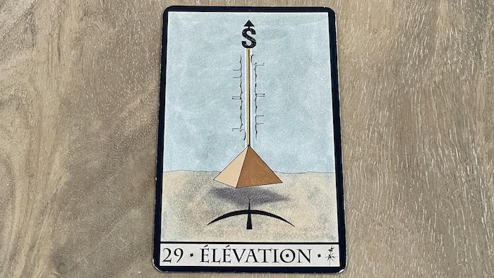 29 élévation oracle triade - tirage faché