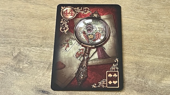 44 Loupe Gilded Lenormand