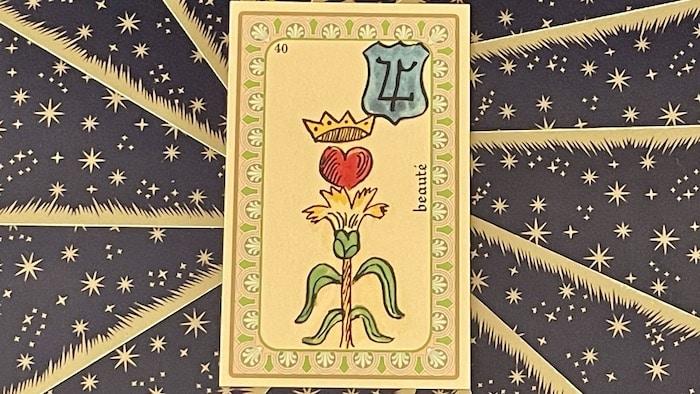 Beauté - carte n°40 - Oracle Belline