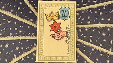 Bonheur - carte n°45 - Oracle Belline