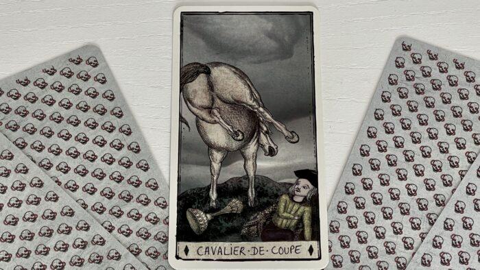 Cavalier de Coupe - arcane mineur - tarot de Marseille - Pole Ka