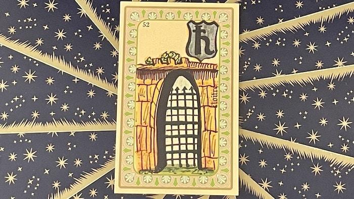Cloître - carte n°52 - Oracle Belline