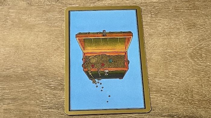 Coffre tarot persan Indira