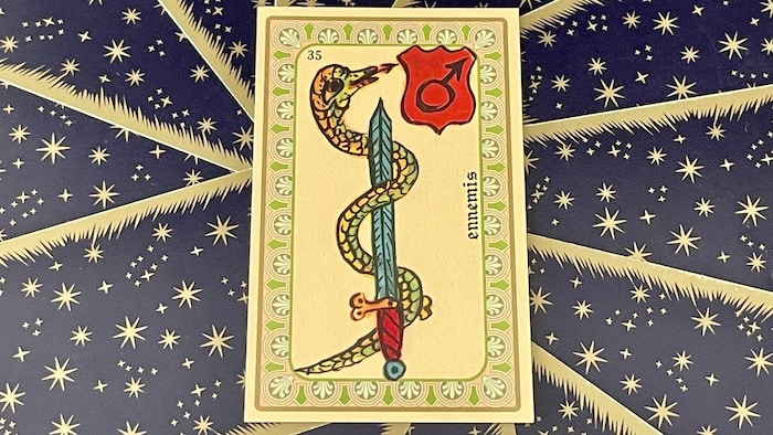 Ennemis - carte n°35 - Oracle Belline