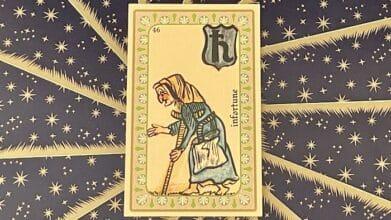 Infortune - carte n°46 - Oracle Belline
