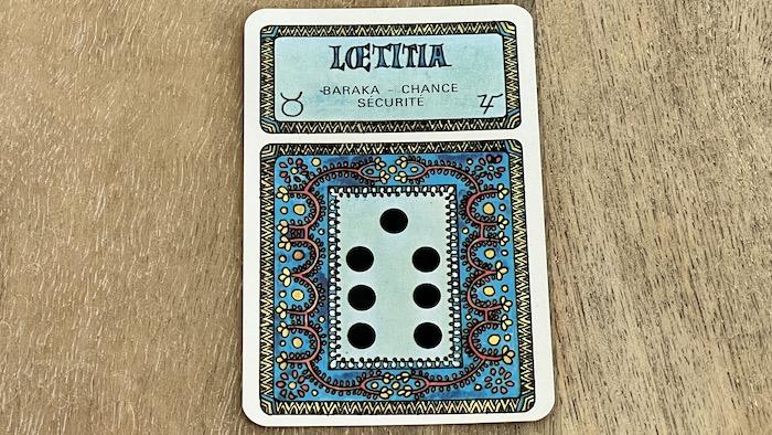 Laetitia géomancie - tirage dispute JC