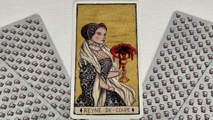 Reine de Coupe - arcane mineur - tarot de Marseille - Pole Ka