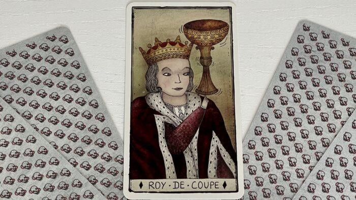 Roi de Coupe - arcane mineur - tarot de Marseille - Pole Ka