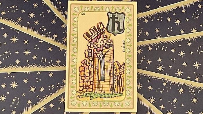 Ruine - carte n°50 - Oracle Belline