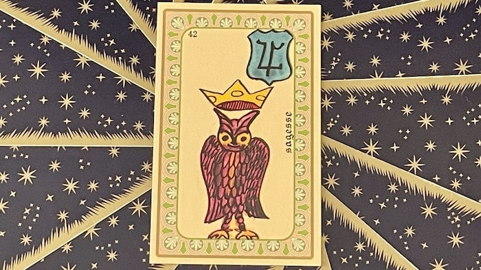 Sagesse - carte n°42 - Oracle Belline