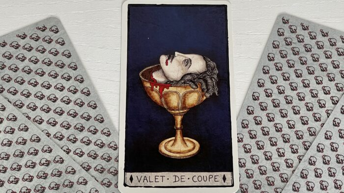 Valet de Coupe - arcane mineur - tarot de Marseille - Pole Ka