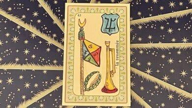 la Renommée - carte n°43 - Oracle Belline