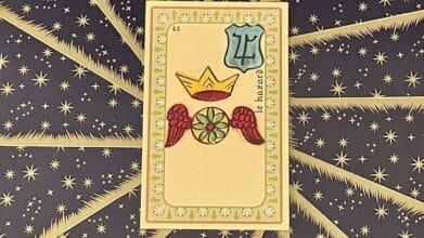 le Hazard - carte n°44 - Oracle Belline