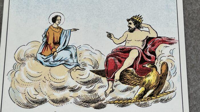 Prédiction Dame de Coeur Grand Lenormand